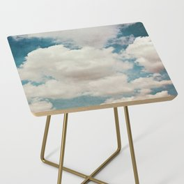 January Clouds Side Table