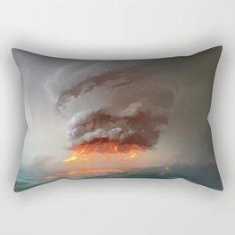 Hot Tower Rectangular Pillow