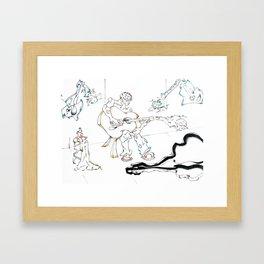 Beggar Framed Art Print