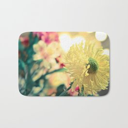 Flowery light Bath Mat