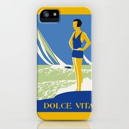 Dolce Vita Jazz Age Summer Travel iPhone Case