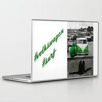 volkswagen Laptop & iPad Skins featuring #volkswagen#surf by Aurian82