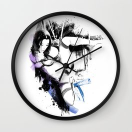 Shibari - Japanese BDSM Art Painting #10 Wall Clock