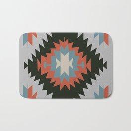 Southwestern Santa Fe Tribal Indian Pattern Bath Mat