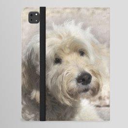 Dog Goldendoodle Golden Doodle iPad Folio Case