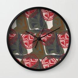 Pop-Naut 2 Wall Clock