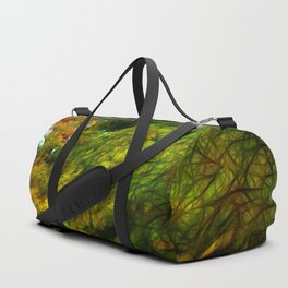 Fall Color Yard Full of Tree Branches Duffle Bag
