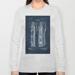 winslow caddy bag patent art Long Sleeve T-shirt