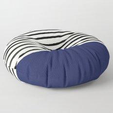 Navy x Stripes Floor Pillow