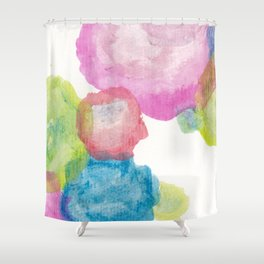 Ezra circles  Shower Curtain