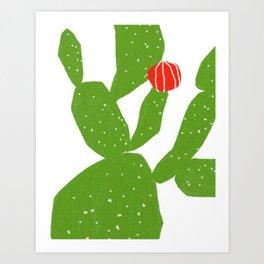 my cactus Art Print