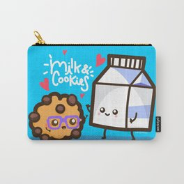 Milk & Cookies Carry-All Pouch