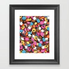 Allsorts Framed Art Print