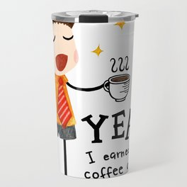 By Being Awesome Travel Mug