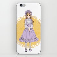 lolita iPhone & iPod Skins featuring Lolita by petitechatnoir