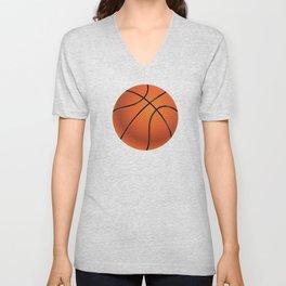 Basketball Ball Unisex V-Neck