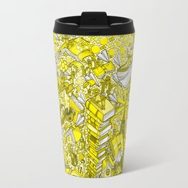 We Love Books Travel Mug