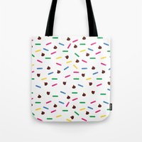 dessert Tote Bags featuring Dessert by olive yuvencia