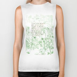 """""""Conquest of the Useless"""" by Werner Herzog Print (v. 3) Biker Tank"""