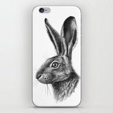 Hare profile G138 iPhone & iPod Skin