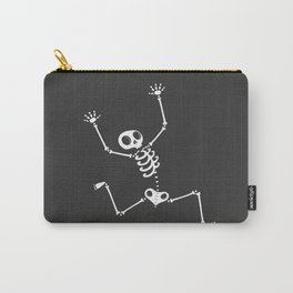 Skeleton on the run Carry-All Pouch