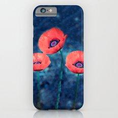 Poppy trio iPhone 6s Slim Case