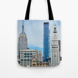 Heights and Sights NYC Tote Bag