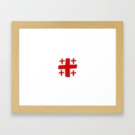 Jerusalem Cross 5 Framed Art Print