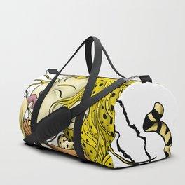 African Cheetarah Duffle Bag