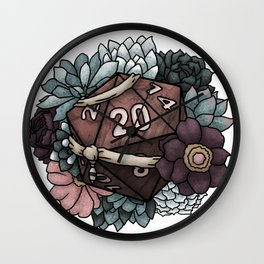 Monk Class D20 - Tabletop Gaming Dice Wall Clock