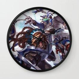 SSW Talon Rengar Thresh Twitch Singed Splash Art Wallpaper Official Artwork League of Legends Wall Clock