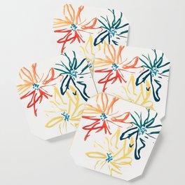 Gestural Blooms Coaster