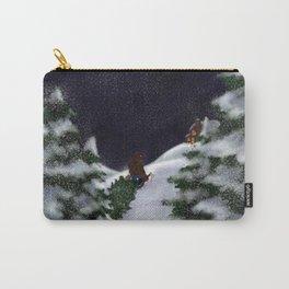 A Christmas Snowfall Carry-All Pouch