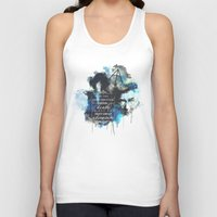 dumbledore Tank Tops featuring Dumbledore by Rose's Creation