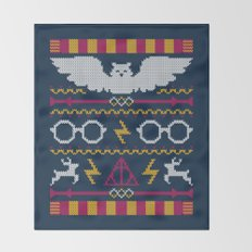 The Sweater That Lived Throw Blanket