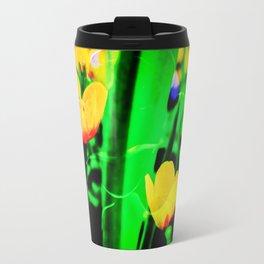 Flowers magic marsh Marigold Travel Mug
