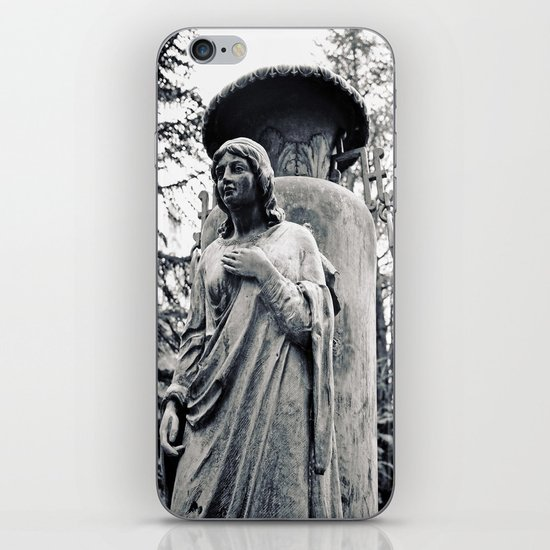 Angel without wings iPhone Skin
