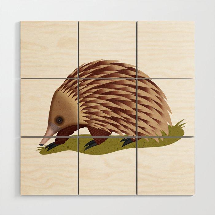 Echidna Wood Wall Art