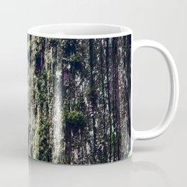 Moss on a cedar Coffee Mug