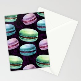 Glam Macarons Stationery Cards