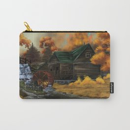 Autumn At the Grist Mill Carry-All Pouch