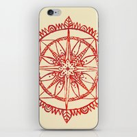 wander iPhone & iPod Skins featuring Wander by Samantha Crepeau