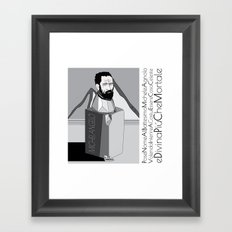 micky Framed Art Print
