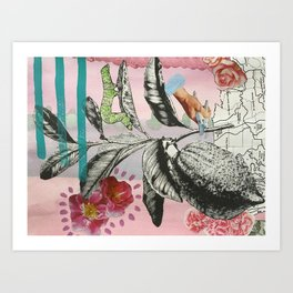LEMON FARMER Art Print