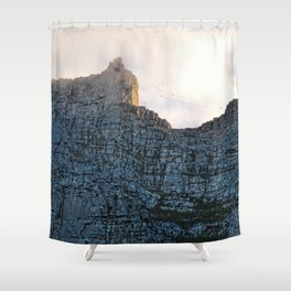Table Mountain 7th wonder of the world Shower Curtain