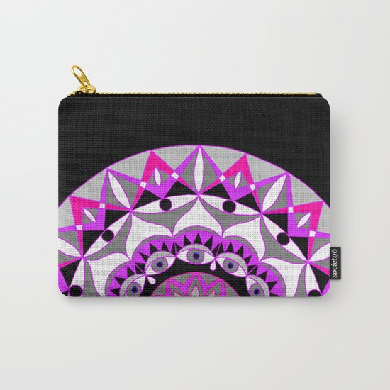 My Love Mandhala | Secret Geometry | Energy Symbols Carry-All Pouch