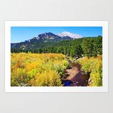 Fall Creek Art Print