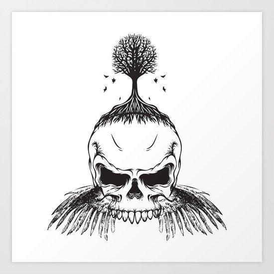 The Fall of Earth Art Print