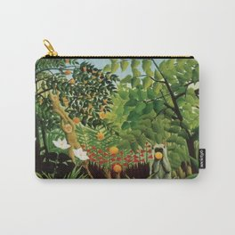 Henri Rousseau Exotic Landscape Carry-All Pouch