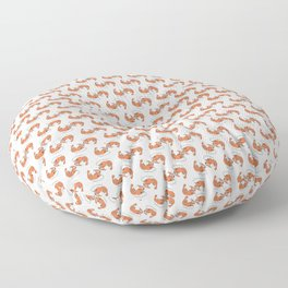 shrimpattern Floor Pillow